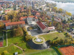 Lądowisko dla śmigłowców przy Szpitalu Polskim w Sztumie